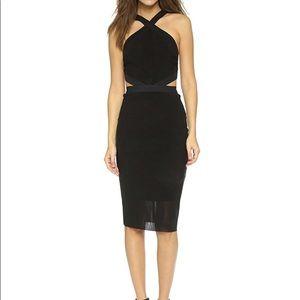Bec & Bridge Parallel Halter Dress - Size 4
